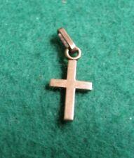 Vintage Small 9ct Gold Cross Pendant