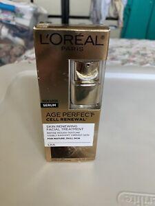 L'Oreal Paris Age Perfect Cell Renewal Anti Aging Facial Treatment - 1 fl oz NIB