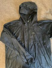 Patagonia Mens Houdini Hooded Running Windshirt Jacket large