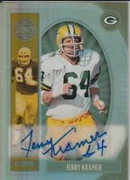 Jerry Kramer Green Bay Packers 2019 Panini Legacy Autograph Card