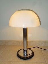 ancienne lampe de bureau champignon  ALUMINOR design mushroom french desk lamp