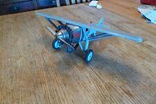 "Hubley ""Lindy"" single engine cast iron toy airplane circa 1924-34"