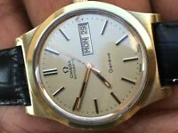 Omega Geneve automatic cal 1022 Gold plated Mens watch Excellent MINT condition