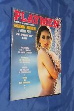 rivista erotica - PLAYMEN - Anno 1992 Numero 6 ALESSANDRA MUSSOLINI, MOANA POZZI