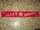 echarpe scarf football ancienne CLUB DES SUPPORTERS MONACO ASM AS MONACO