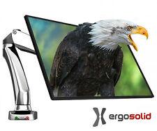 """NB F100 - Support de bureau ERGO pour écrans LED 17-27"""", VESA75,100"""