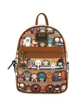 Authentic Loungefly STAR WARS Cantina CHIBI Mini Backpack *New With Tags*
