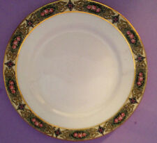 Vintage art deco china plates- Homer Laughlin Sunrise Dinnerware-4 plates- rare