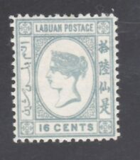 Labaun Stamp #23 - 16c 1886 Queen Victoriia - Unused