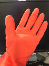 6 pair Heavy Duty Industrial Household Latex Rubber Gloves