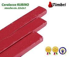 Ceralacca classica colorata 5 stecche colore RUBINO