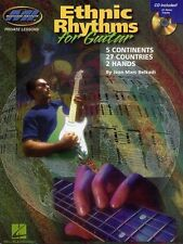 Jean Marc Belkadi Ethnic Rhythms For Guitar Learn to Play Rock Music Book & CD