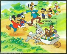 Dominica Disney Easter 1984 S/S Scott #841 Mint Never Hinged Complete