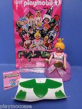 (N5204.12)  playmobil série 1 fille Princesse rose N°12 neuve / new 5204