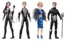 Hunger Games Barbie Catching Fire Doll Set of Four: Katniss Peeta Effie Finnick