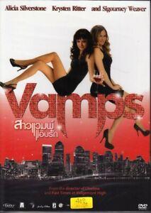 Vamps (2012) DVD R0 PAL - Alicia Silverstone, Krysten Ritter, Comedy Horror