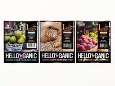 Hello Ganic One a Day Sheet Mask - Set of 3 Masks-New Vegan/Animal Cruelty Free