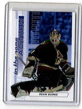 Sean Burke   game used jersey card    Sapphire version