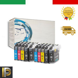 10 Cartucce Compatibile Brother LC-223 MFC-J480D MFC-J5625 MFC-J5720 MFC-J5320