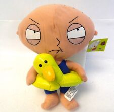 "Nanco 12"" RARE Water Ring Ducky Bath Time Pool Swim Family Guy Stewie Plush"