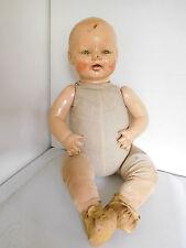 "Vintage 1930's Horsman 21"" Baby Dimples Composition Fixer Doll Hospital"