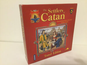 The Settlers of Catan Travel Edition, Mayfair Games Inc, Klaus Teuber 2003 new