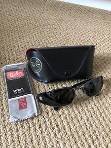 Ray Ban Sunglasses RB3261 Black & Case Genuine