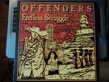 Offenders - Endless Struggle Lp kbd gism really red dicks big boys stains NEW