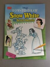 Walter Foster Disney's How To Draw Snow White and the Seven Dwarfs + Aladdin