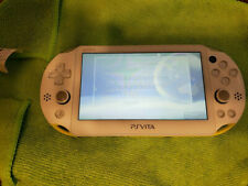 Blanco/Amarillo Slim PS Vita 2000 3.65fw, henkaku Enso 128GB (PSP, PS1, Retro)
