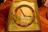 Rare MAXIMA CLOCK, Hand Painted Porcelain Dial a work of Art......