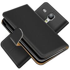 Handy Hülle Samsung Galaxy S3 Mini Schutz Etui Booklet Cover PU Leder Tasche