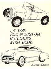 1950'S Rod and Custom Builders Wish Book