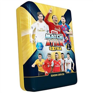 Match Attax Extra 19/20 UEFA Champions League Mega Tin 43244