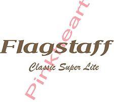 Flagstaff classic super lite RV sticker decal graphics trailer camper  USA