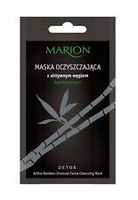 Máscara de limpieza facial Marion desintoxicación con Activo Carbón de Bambú