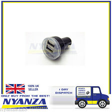 New Dual USB  In Car Charger 12v Twin Port iPhone iPad Samsung HTC MP3