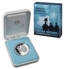 2009 International Polar Year - Three Explorers- $5 Silver Proof, 36.31g RAM
