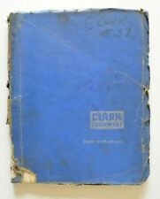 CLARK Equipment C500 1962 Parts manual