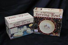 "Royal Seasons Table Top Set and Serving Bowl 10"""