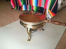 Vintage Copper 6 piece Chafing Dish