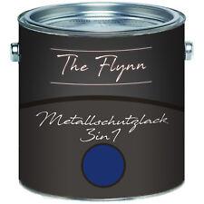 The Flynn Metallschutzlack 3-in-1 Enzianblau RAL 5010 2,5L 5L 10L TOP! Blau