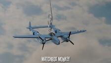 Sweet Dreams P-38 Lightning USAF WWII MC Christmas Ornament Airplane Aircraft