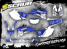 SCRUB Yamaha graphics decals kit WRf 450 2007-2011 stickers '07-'14 WR 450f ISDE