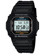 CASIO G-5600E-1 G-SHOCK Digital Solar Resin Strap Black