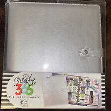 Create 365 The Happy Planner Me Amp My Big Ideas Silver Cover