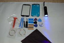 Kit De Réparation De Verre Écran Avant pour Samsung Galaxy S3 Bleu
