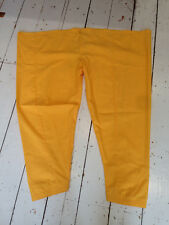 Vintage 90s harem mustard cotton trousers hippy