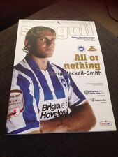 Brighton V Doncaster 2011 Soccer Programme First League game At New Stadium