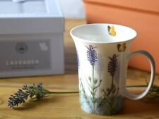 ROYAL BOTANICAL  GARDENS KEW Lavender FINE BONE CHINA MUG In Gift Box